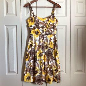Maggy London Floral Dress Size 4P
